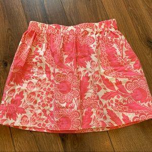 J. crew 🌺 Floral skirt! Women's size CA GUC!
